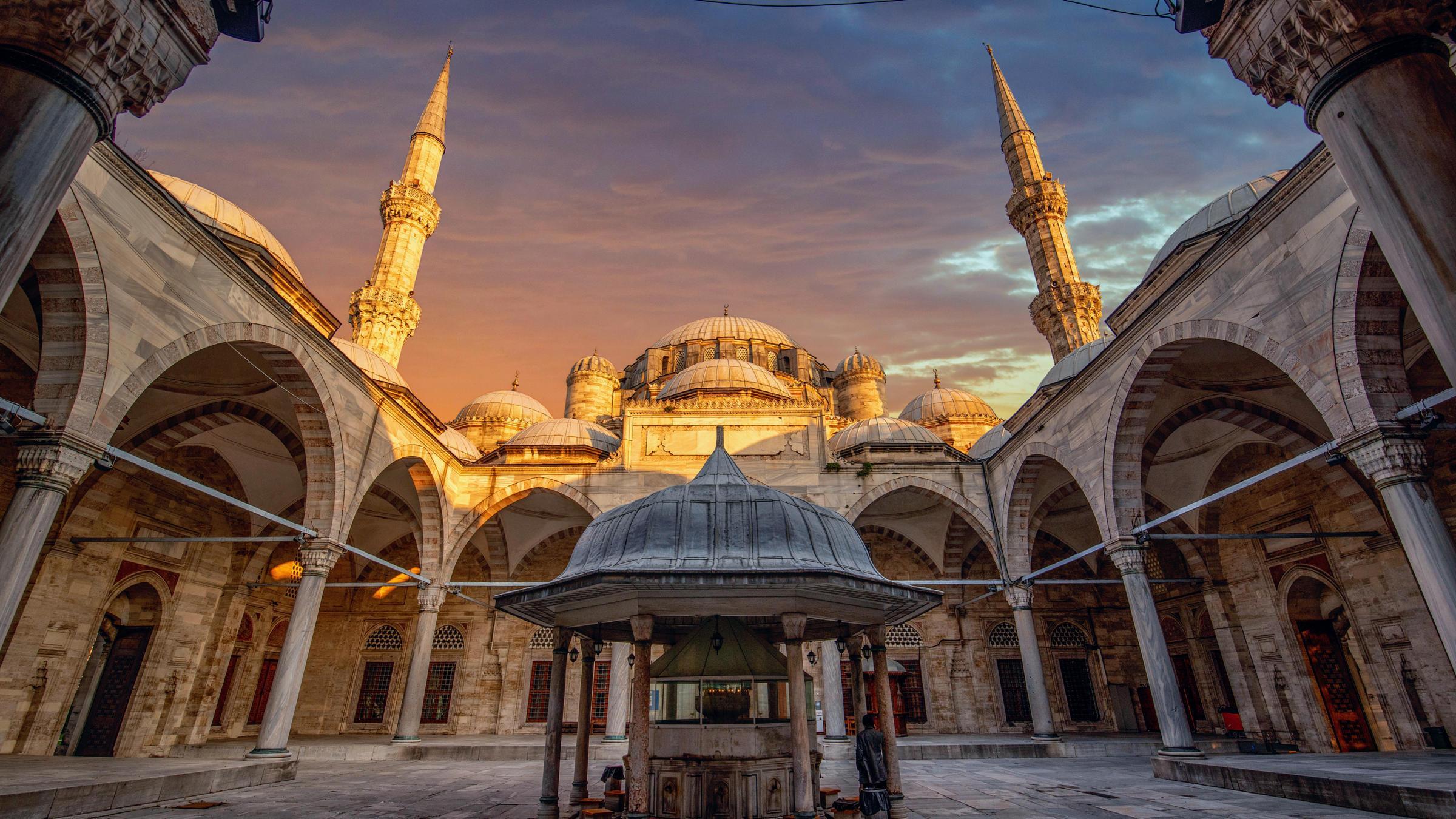 Мечеть Сулеймания Турция