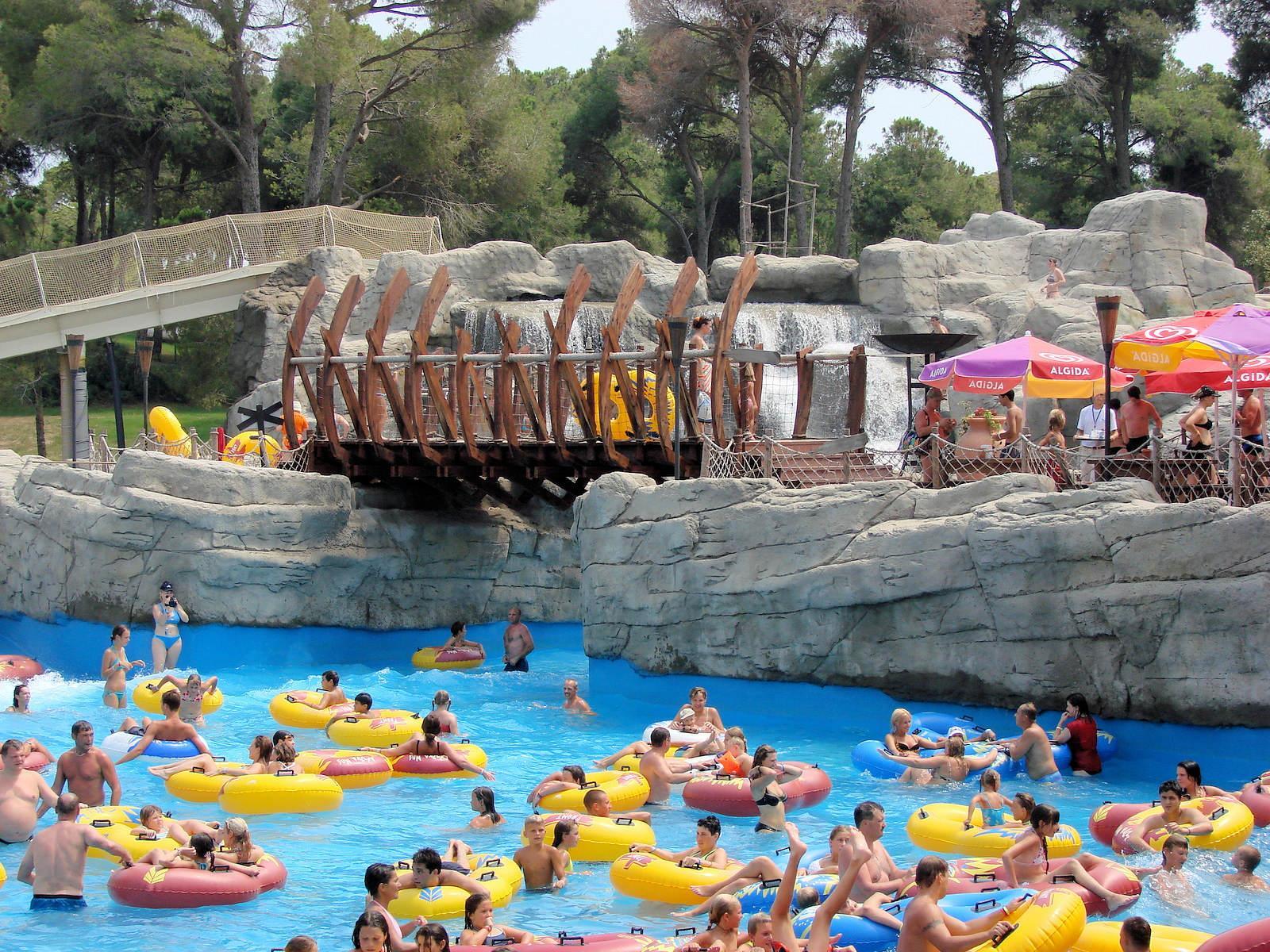 Фото аквапарка в Турции
