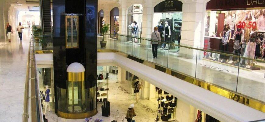 Фото торгового центра в Анталии