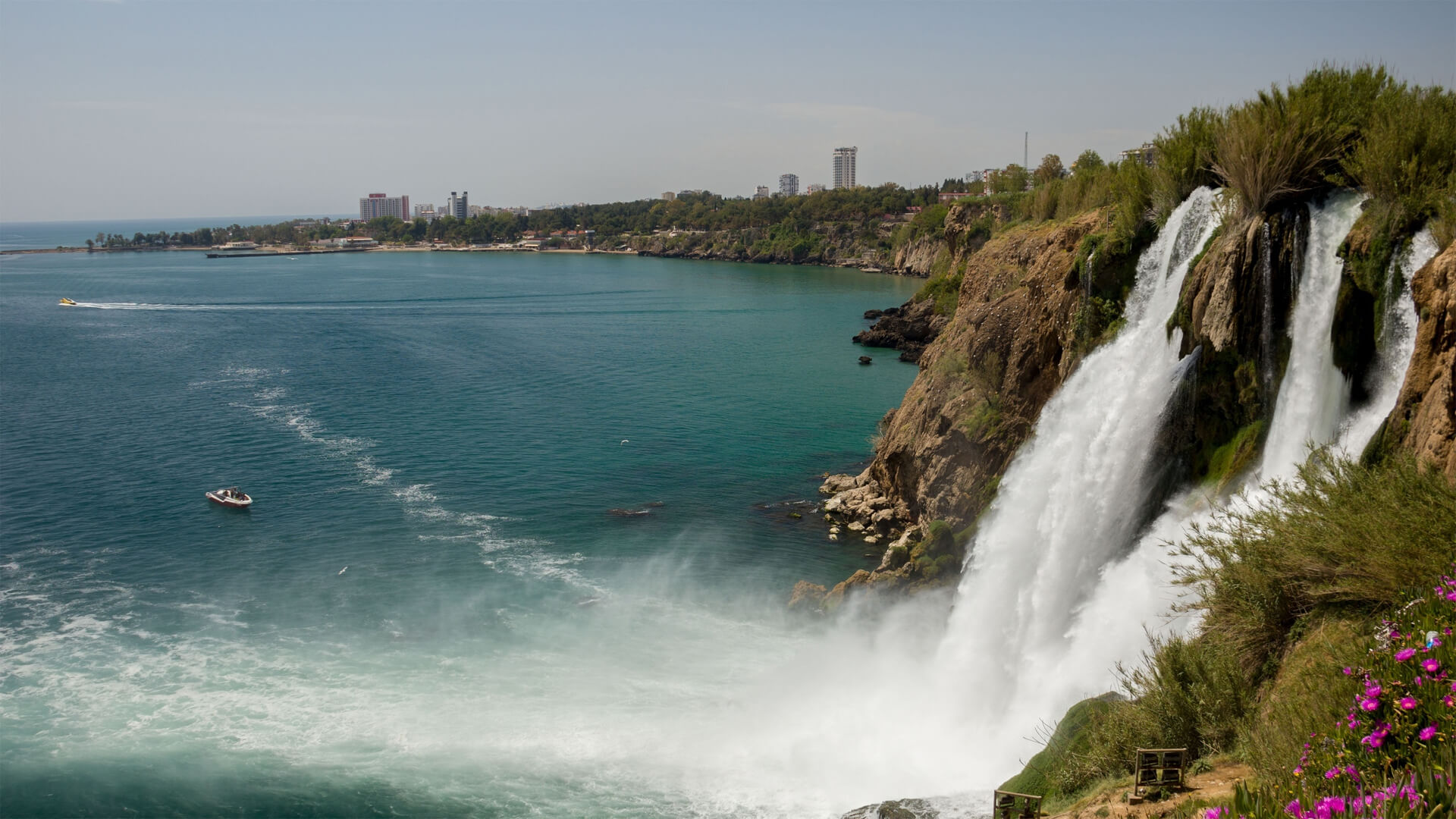 Фото Дюденских водопадов