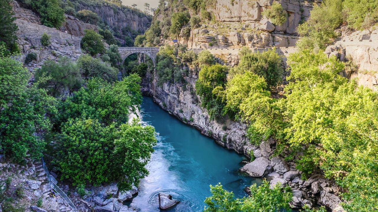 Фото каньона Кёпрюлю