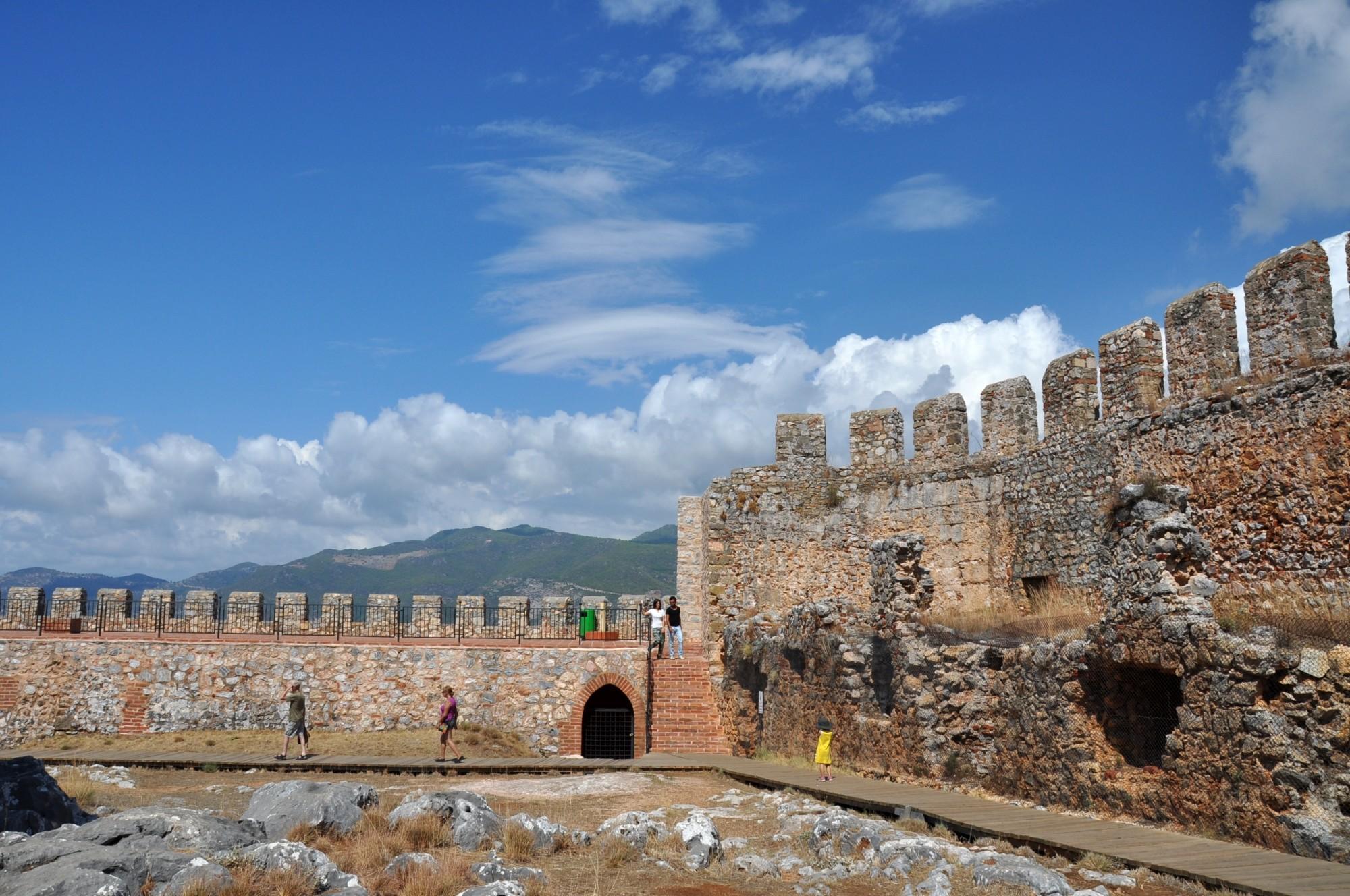 Фото старинной крепости