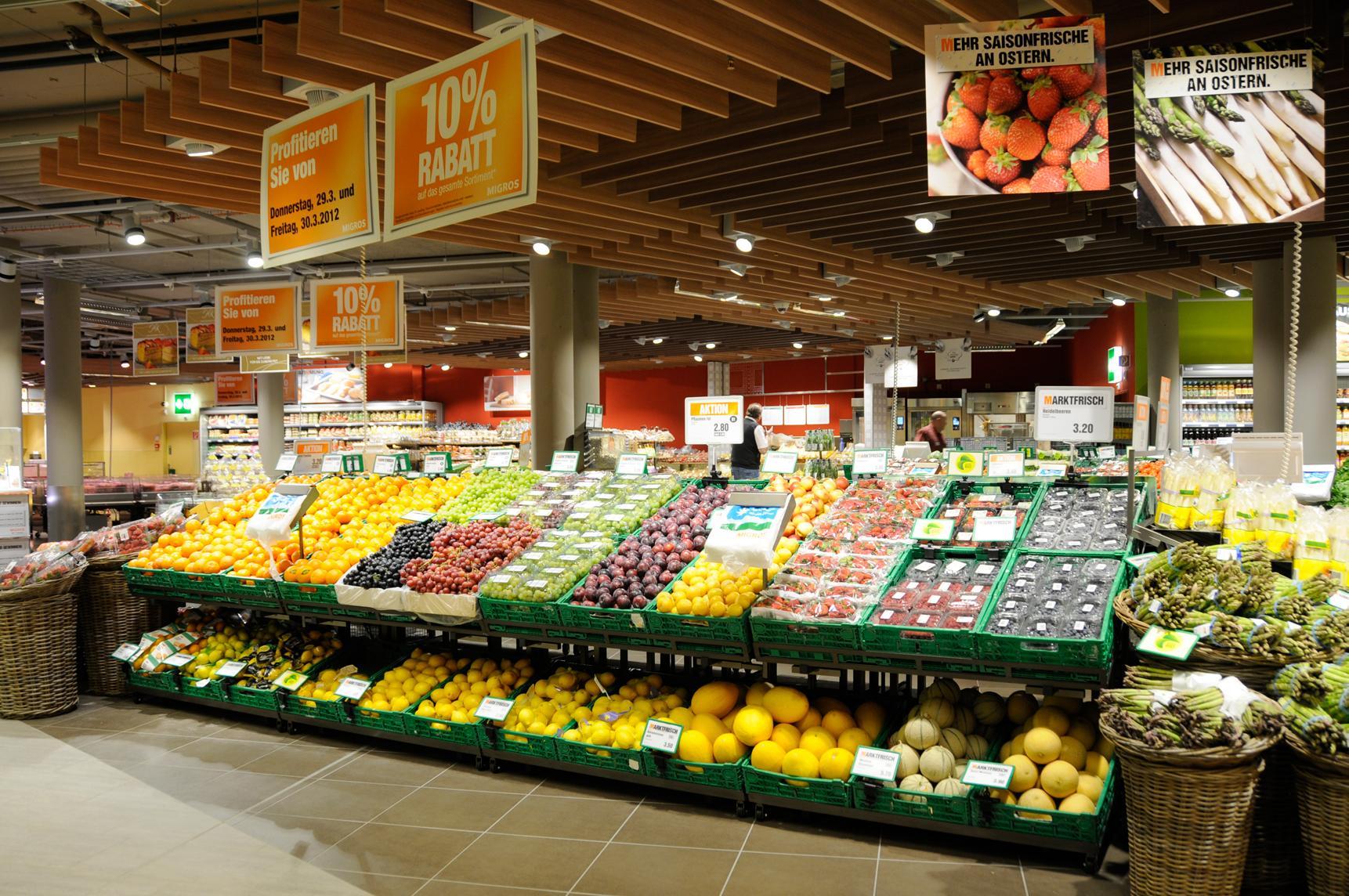 Фото супермаркета Migros в Анталии