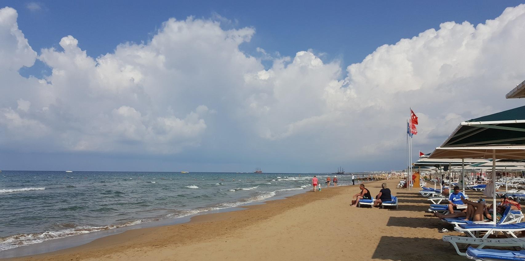 Фото пляжа в Сиде