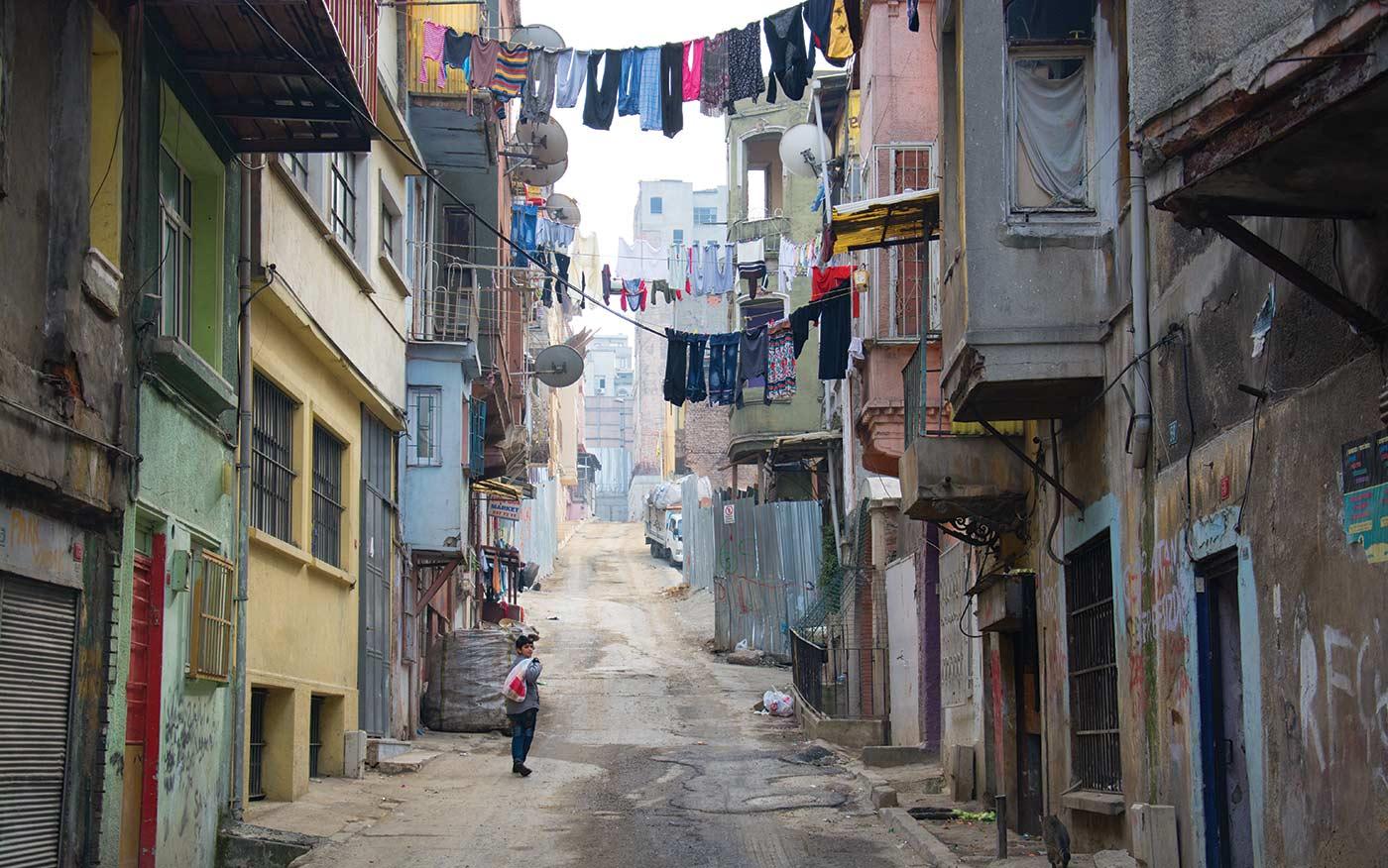 Фото трущоб Стамбула
