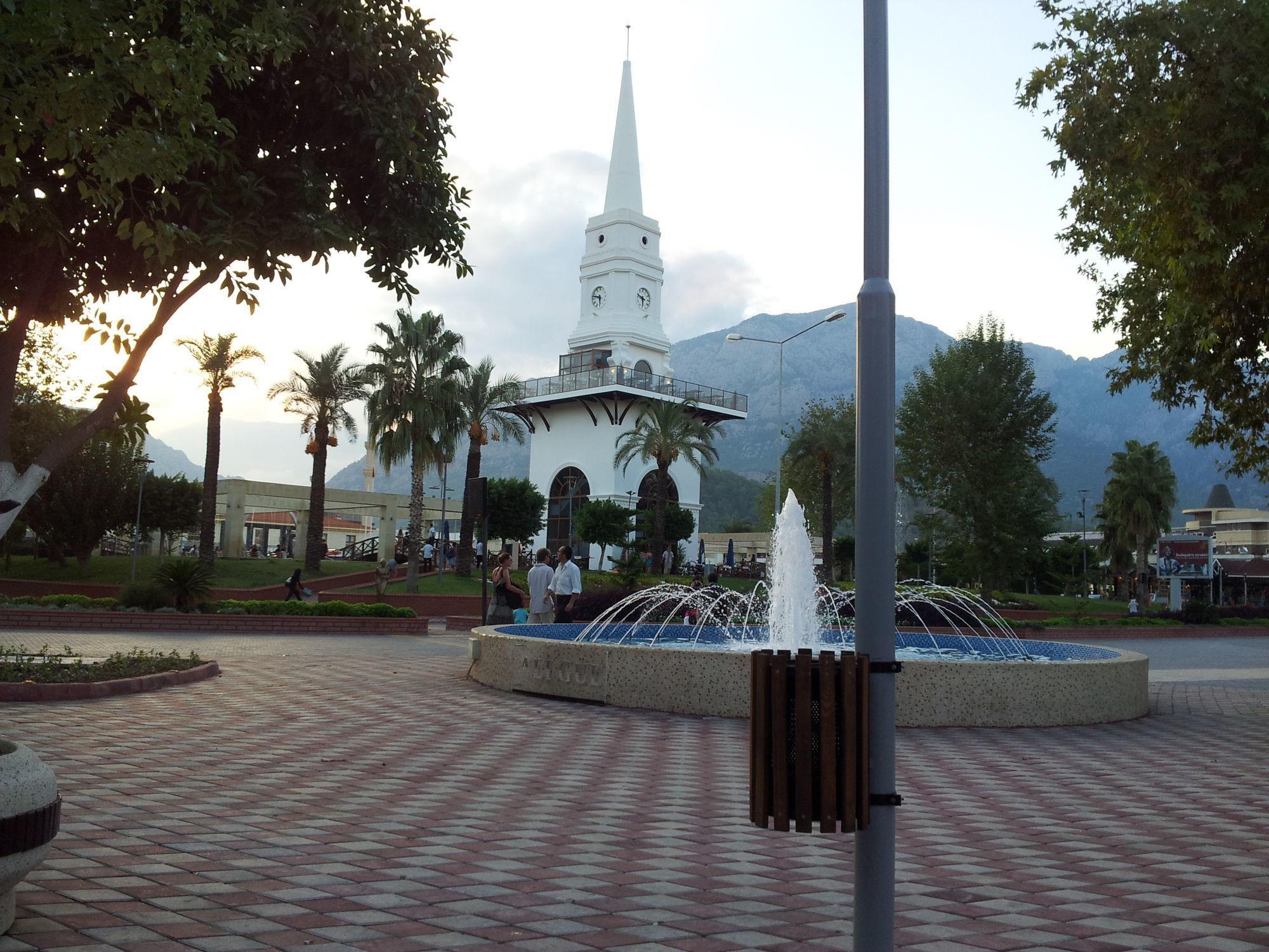 Фото центральной площади в Кемере