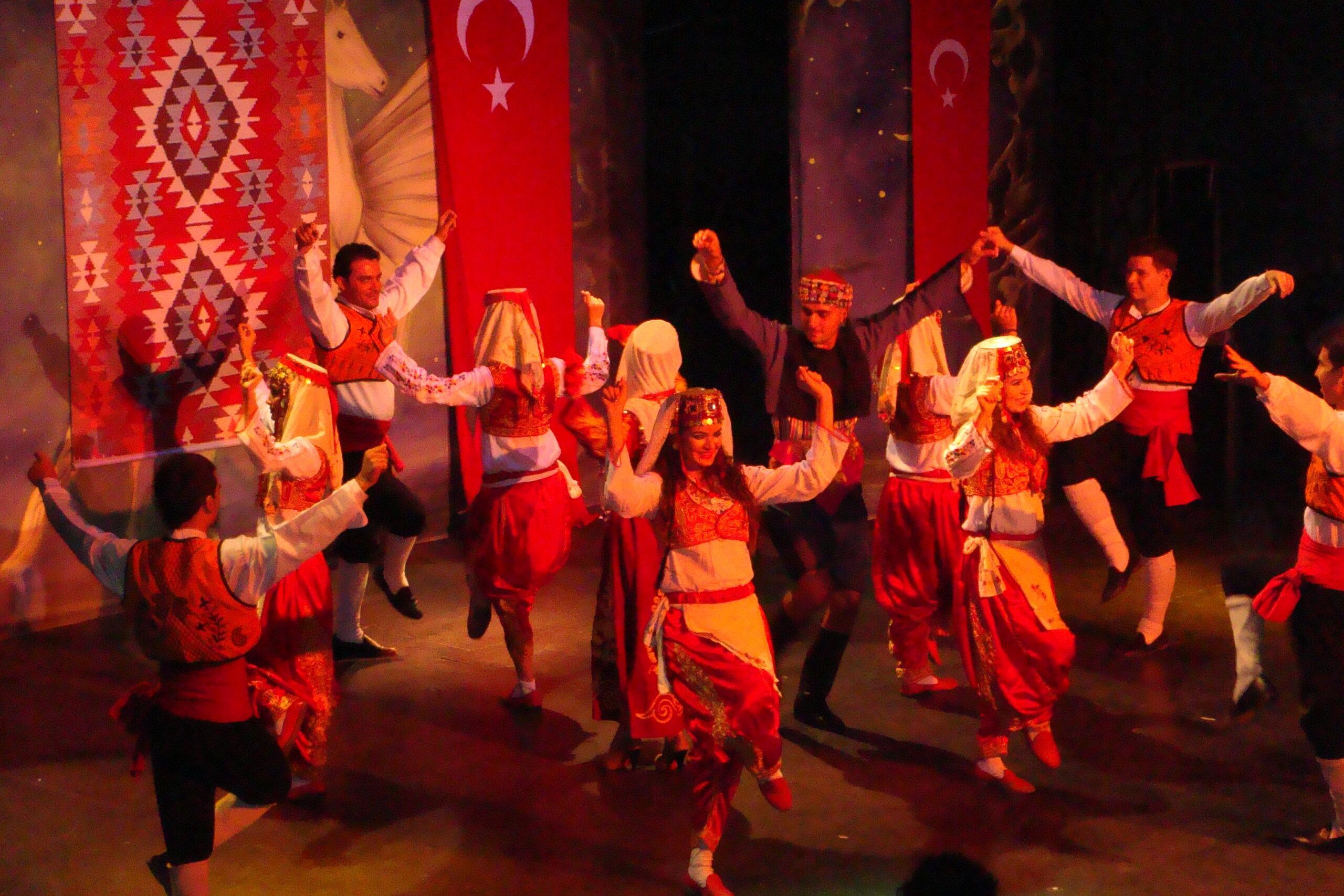 Фото празднования Турецкой ночи