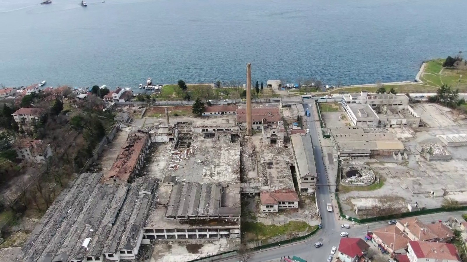 Стекольный завод Пашабахче станет отелем