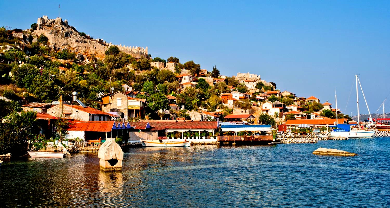 Город Демре в Турции