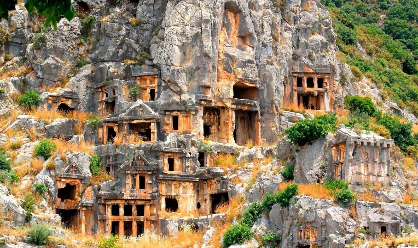 Древний город Майра фото