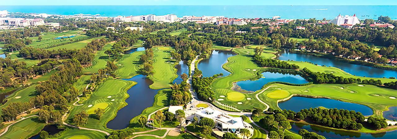 Где поиграть в Белеке в гольф