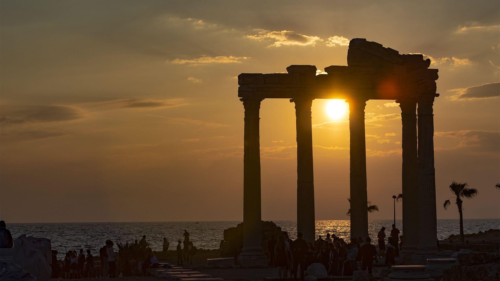 Достопримечательности Сиде, Турция