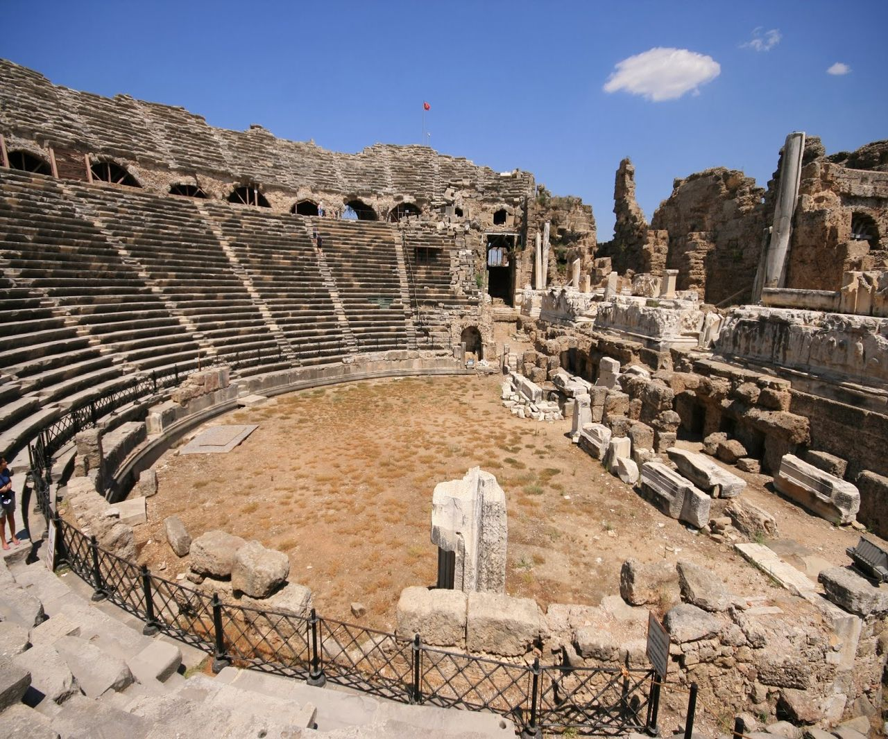 Древние руины Сиде