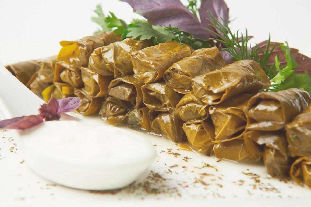 Долма - это турецкая еда