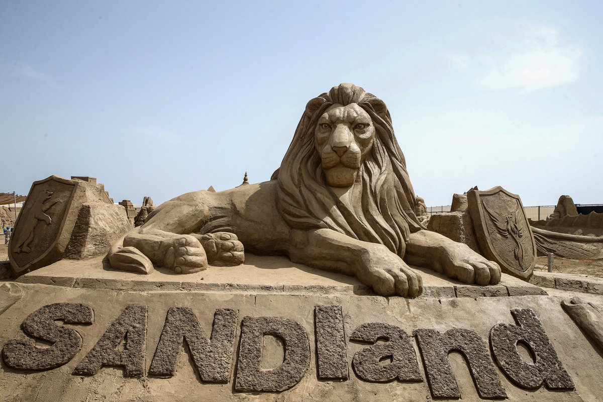 Фото центра скульптур из песка