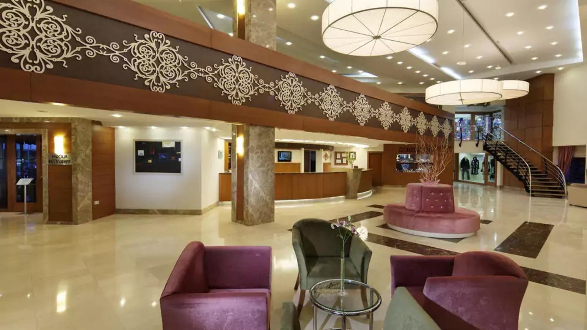 Фото ресепшена в Euphoria Tekirova Hotel