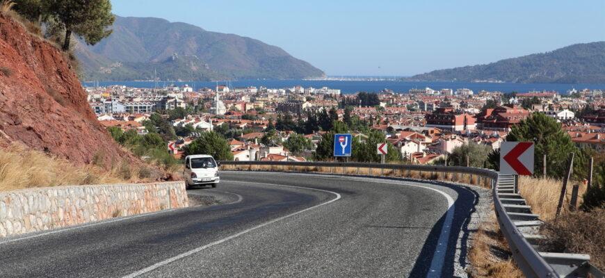Фото дороги в Турции