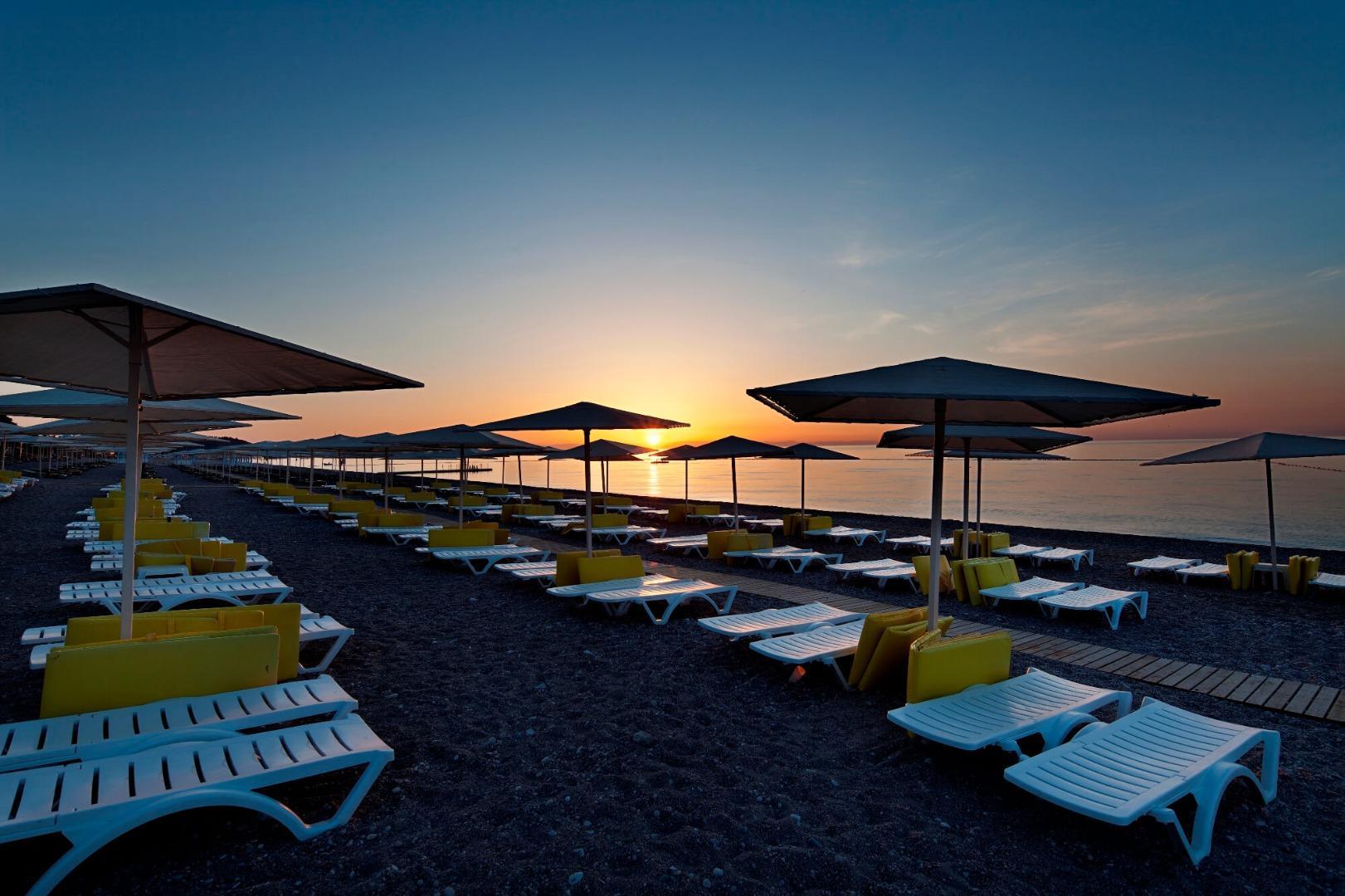 Фото пляжа Euphoria Tekirova Hotel