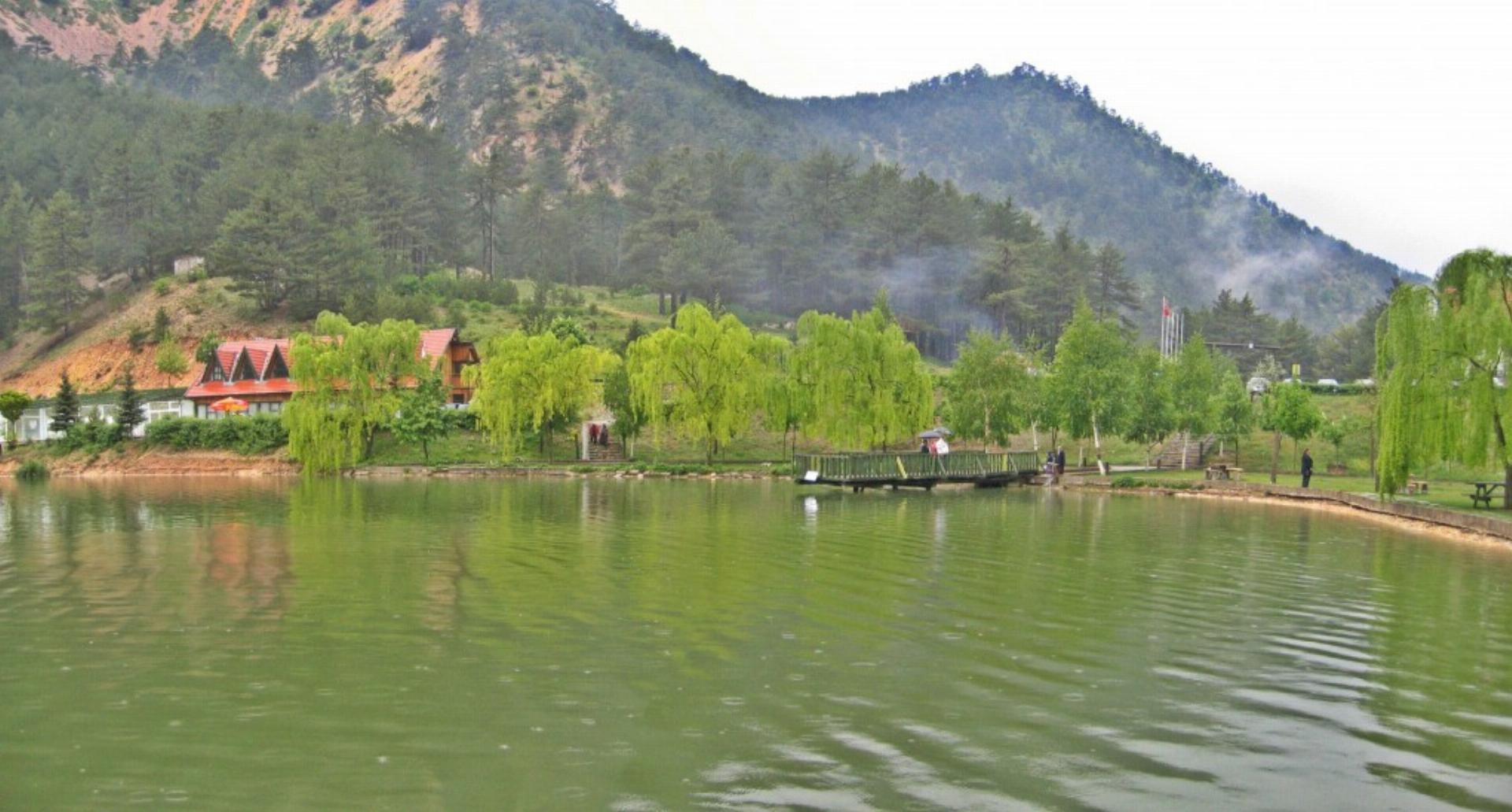 Фото озера Саннет