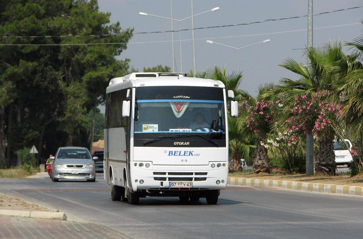 Фото автобуса в Белеке