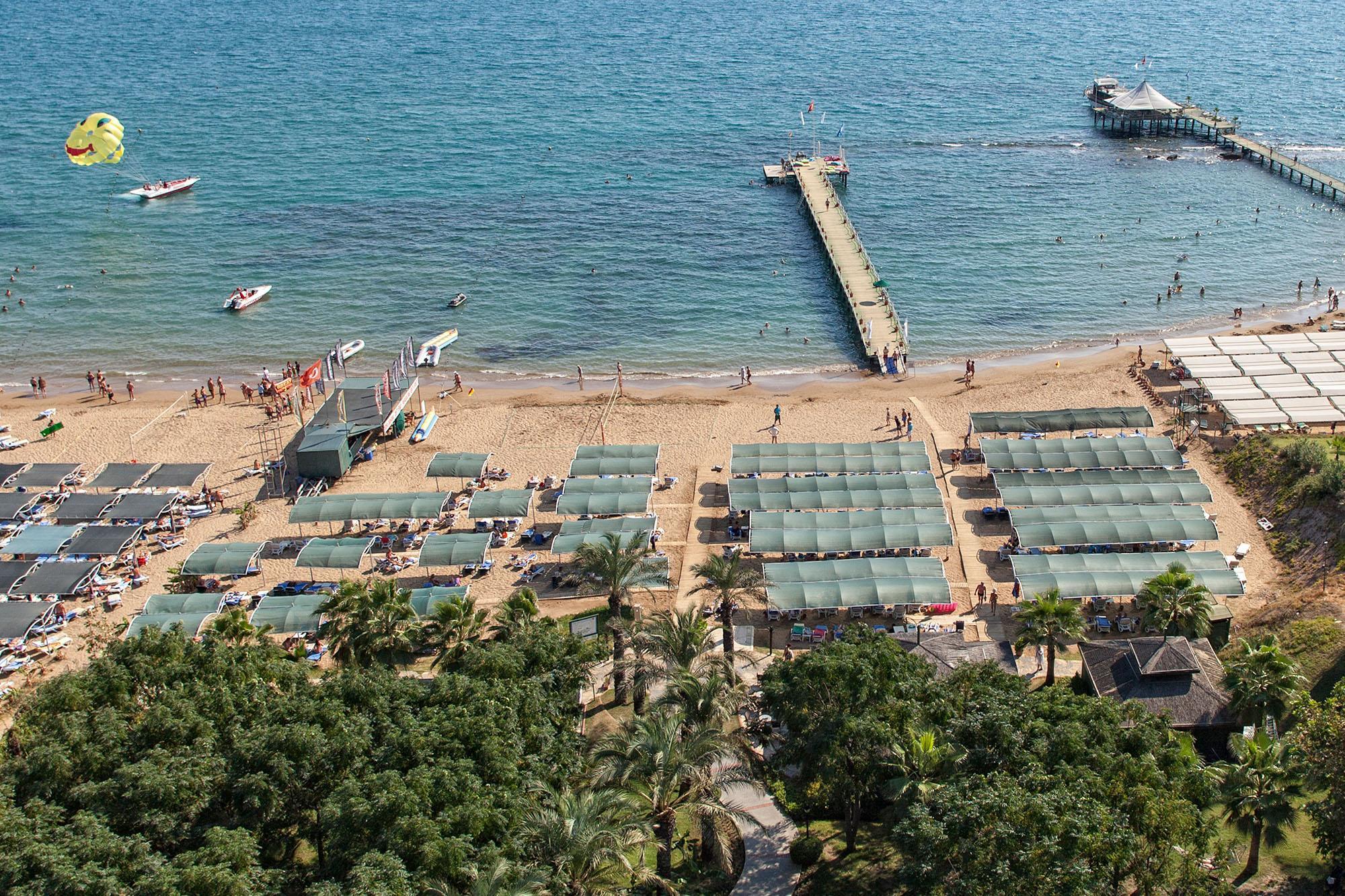 Фото пляжа в Alva Donna Beach Resort Comfort