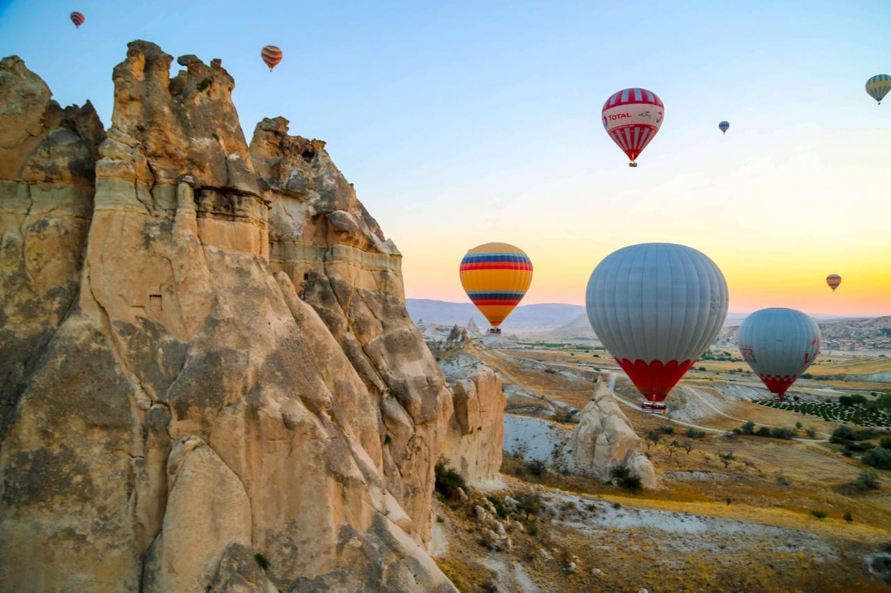 Фото шаров в Каппадокии
