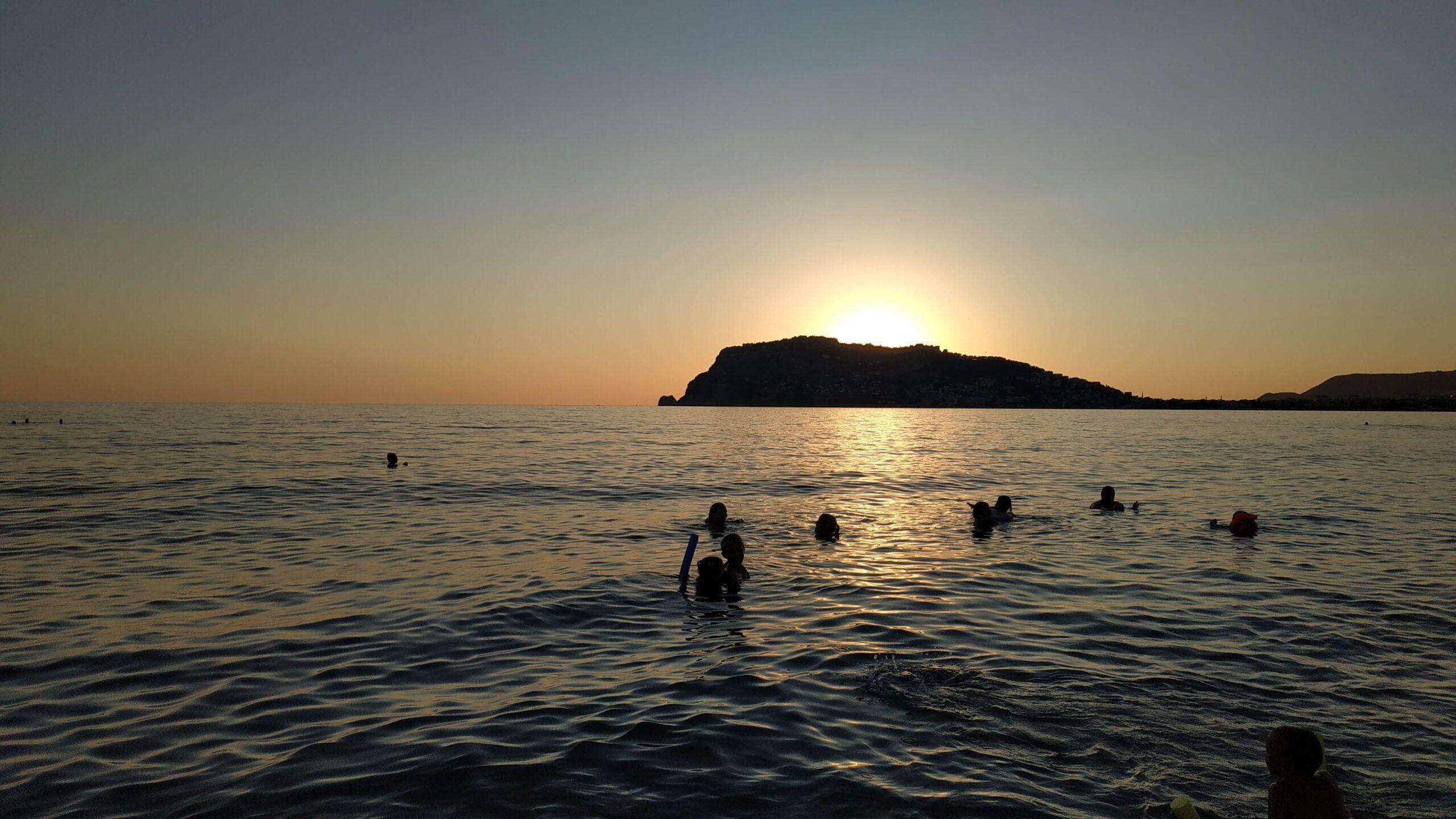 фото Пляж на закате