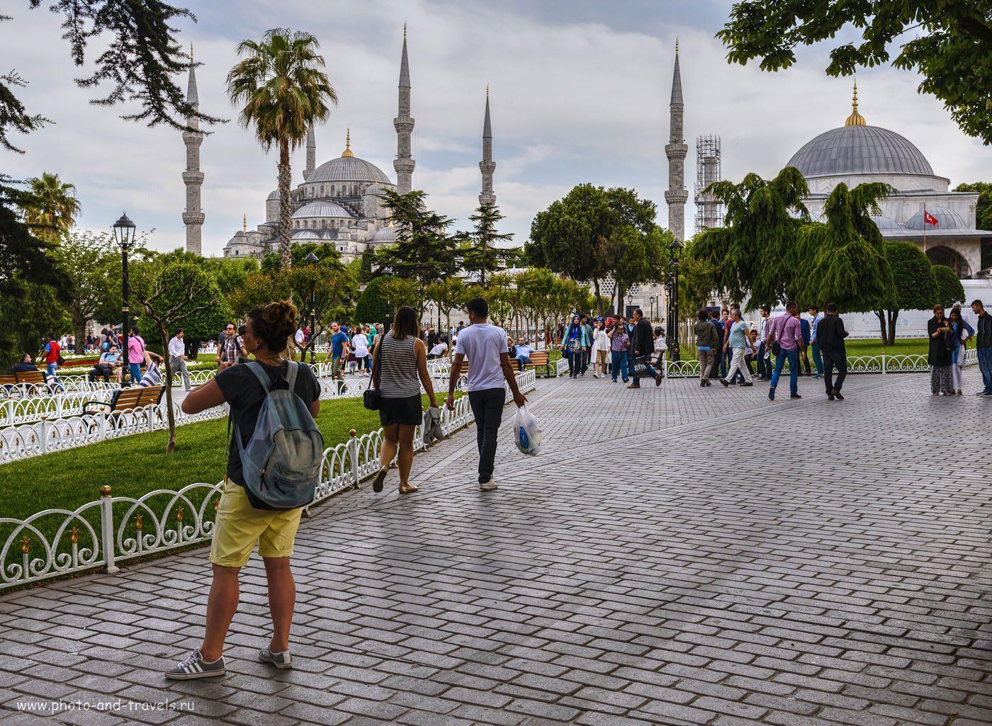Стамбул туристы