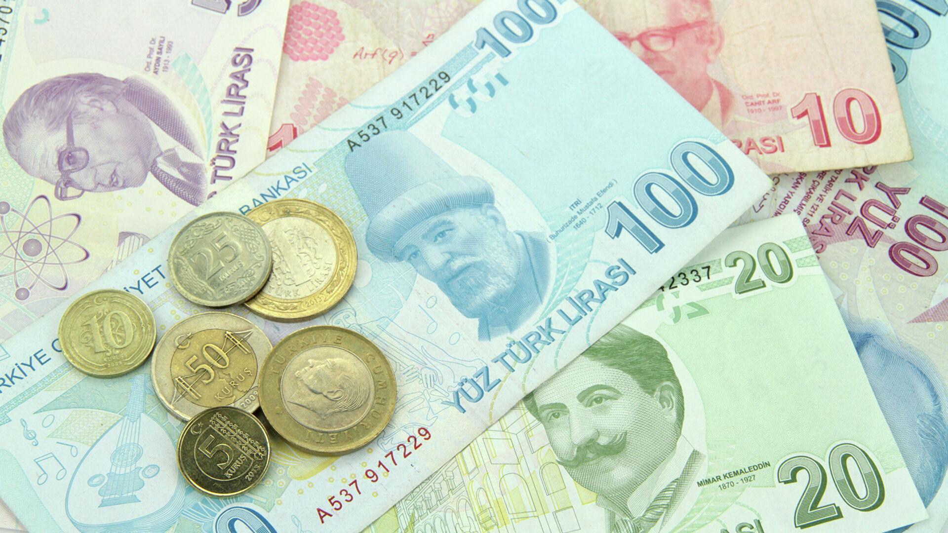 Фото турецкой валюты