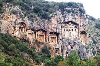 Древний город Каунос и его гробницы под угрозой исчезновения