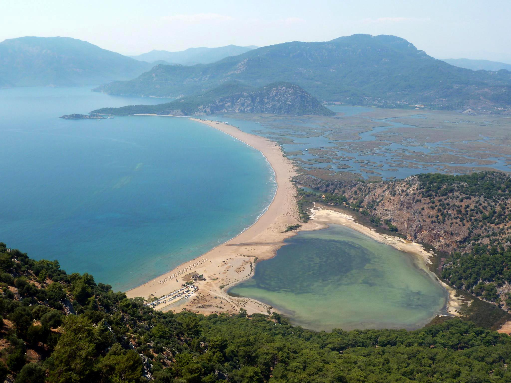 Пляж Изтузу Мармарис
