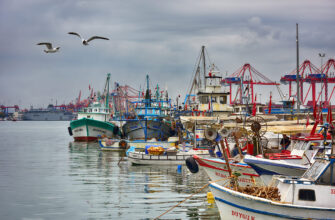Город Мерсин, Турция